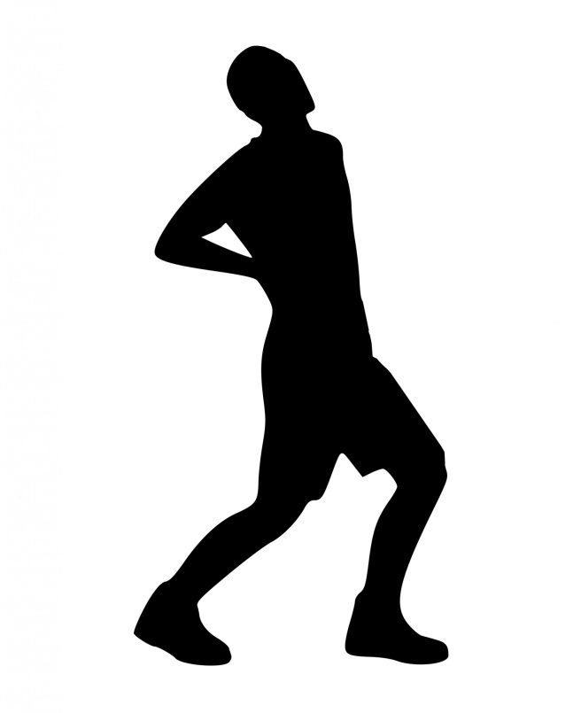 silhouette-back-pain-man-ache-